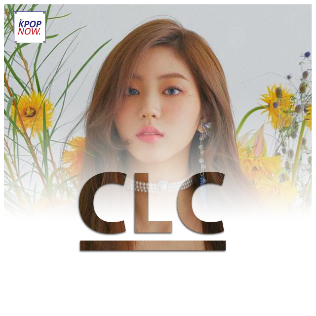 CLC Eunbin fade by At Kpop Now