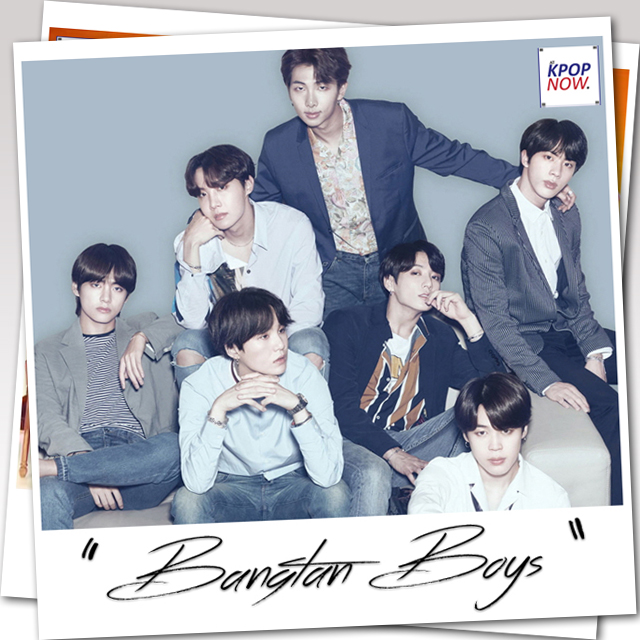 BTS Polaroid by AT KPOP NOW