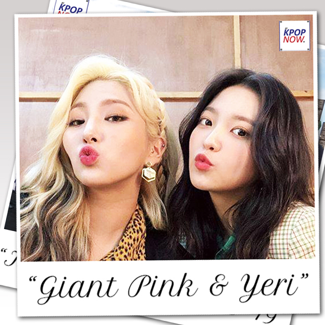 GIANT PINK & YERI Polaroid by AT KPOP NOW