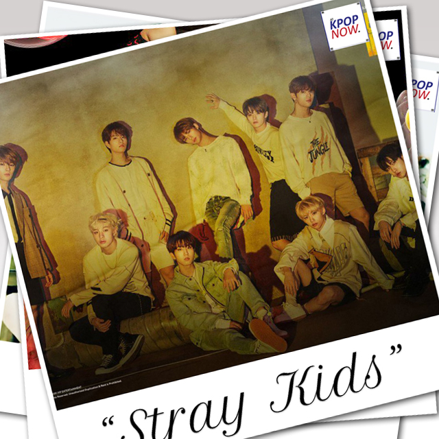 STRAY KIDS polaroid by AT KPOP NOW