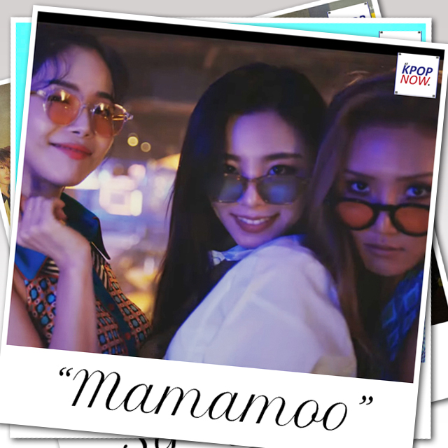 MAMAMOO polaroid by AT KPOP NOW