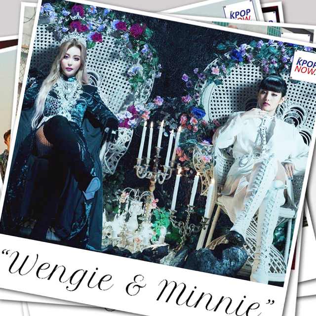 WENGIE & MINNIE polaroid by AT KPOP NOW