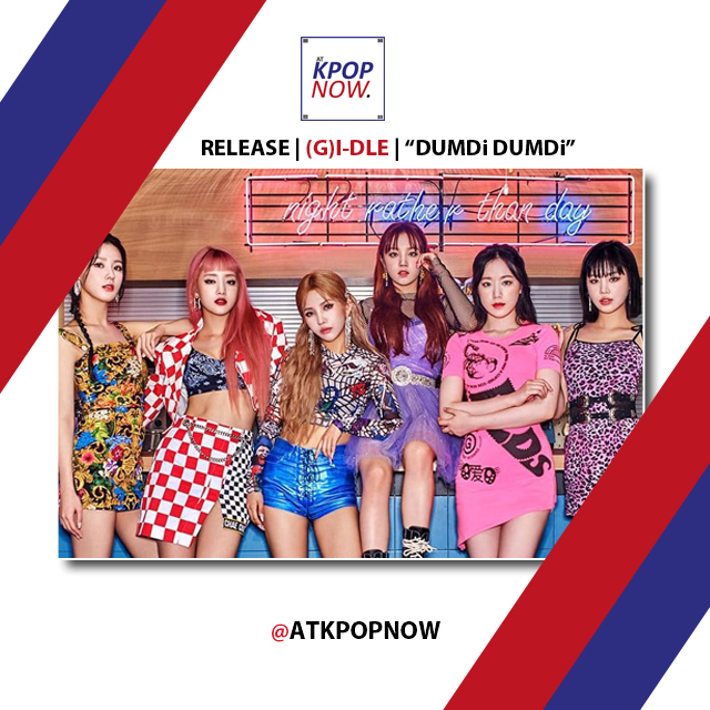 (G)I-Dle party design 2 by AT KPOP NOW 3