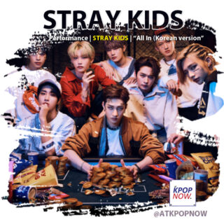 Stray Kids brush design 3 by AT KPOP NOW