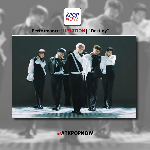 UP10TION performance mv Destiny by At Kpop Now