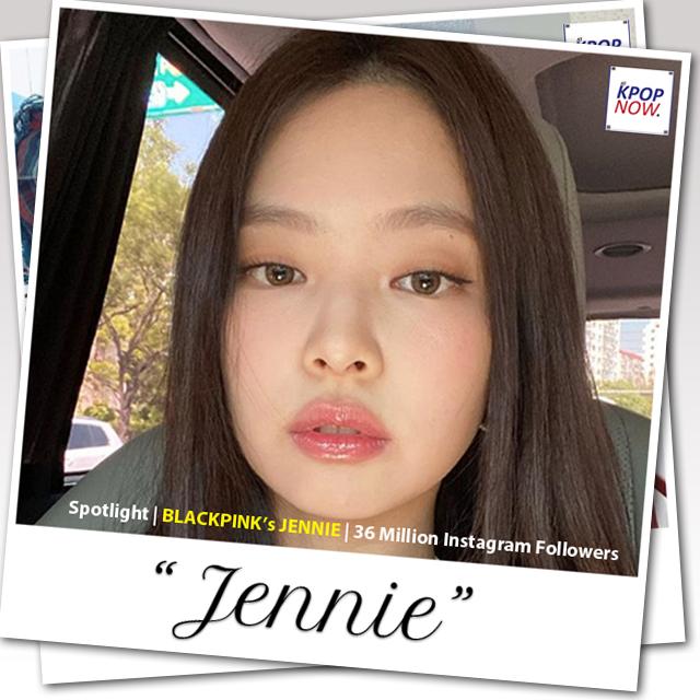 BLACKPINK JENNIE Polaroid Design by AT KPOP NOW