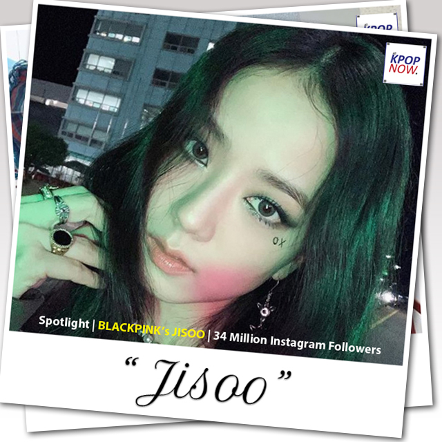 BLACKPINK JISOO Polaroid Design by AT KPOP NOW