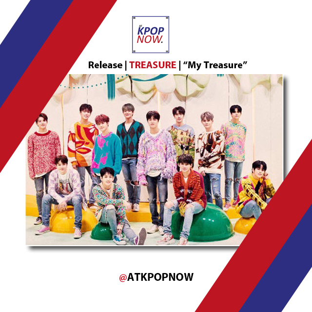 Treasure party design by AT KPOP NOW 3