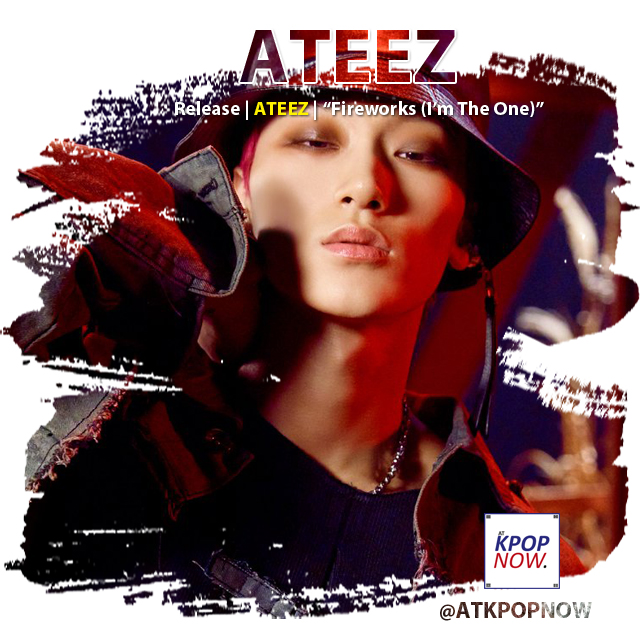 ATEEZ brush design by AT KPOP NOW