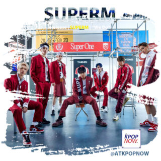 Super M brush design by AT KPOP NOW