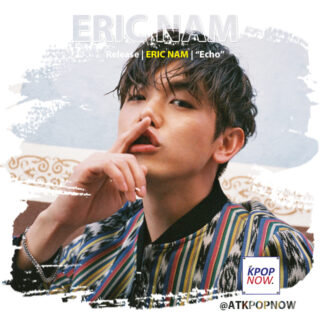 Eric Nam brush design by AT KPOP NOW