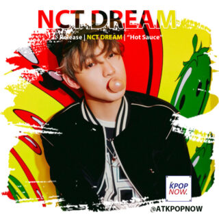 NCT Dream brush design by AT KPOP NOW