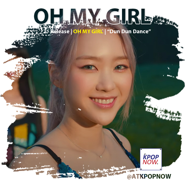 Oh My Girl brush design by AT KPOP NOW