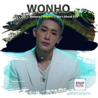 Wonho brush design by AT KPOP NOW